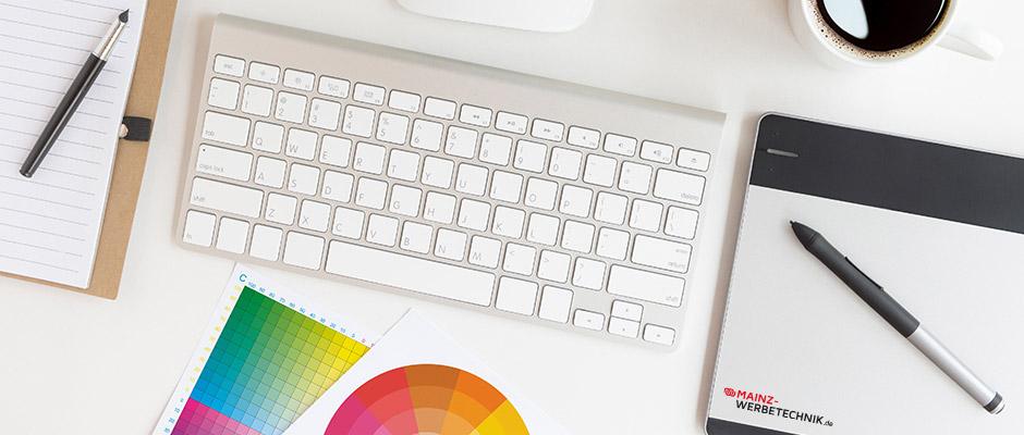 Service, Grafikarbeiten, Layout, Design, Beratung, Montage